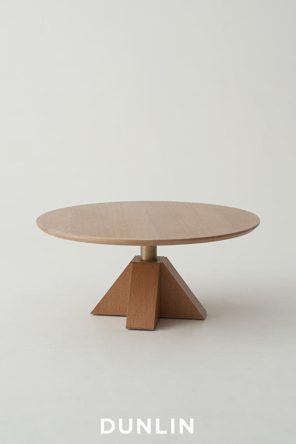 Daniel Boddam M Low Round Coffee Table Dunlin Home