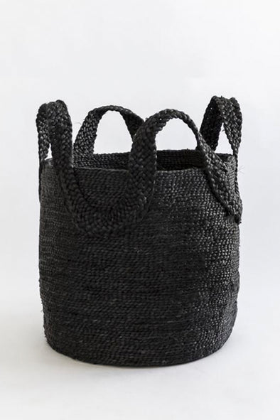 J'JUTE ECOLE TALL BLACK BASKET