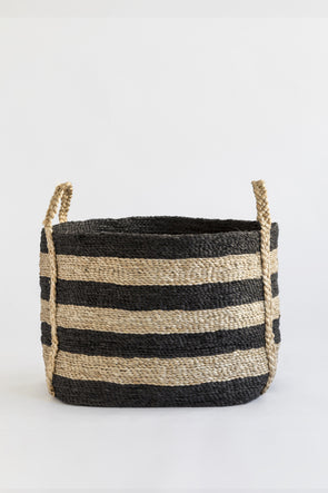 Andaman stripe nautical j'jute jute basket
