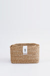 J'Jute Gateway Rectangular Set of 3 Jute Baskets in Natural