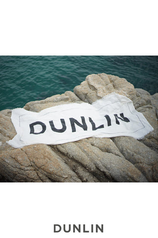 Dunlin Linen Beach Towel