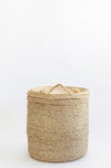 J'Jute Assembly Tall Jute Basket - Natural