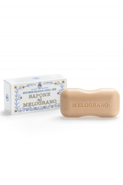 Santa Maria Novella POMEGRANATE / MELOGRANO BATH SOAP box of 1 pc 200 g