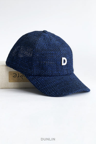 Dunlin Woven Baseball Cap in Royal Blue
