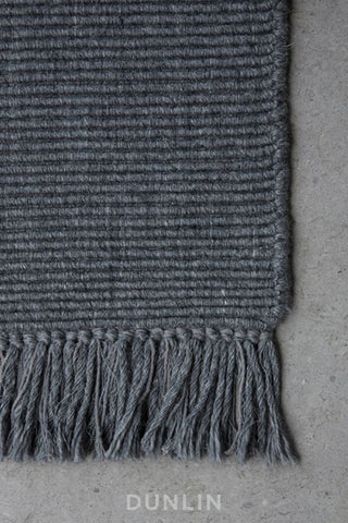 NODI Ribbed Wool in Charcoal
