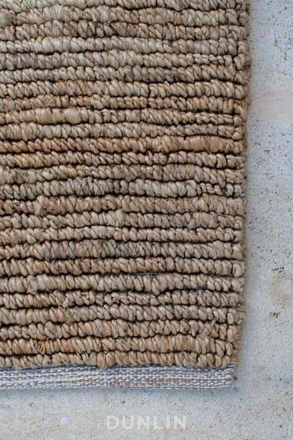 NODI Looped Jute in Natural