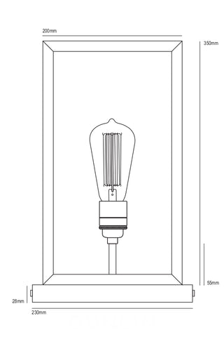 Portico Stand Light by Davey Lighting