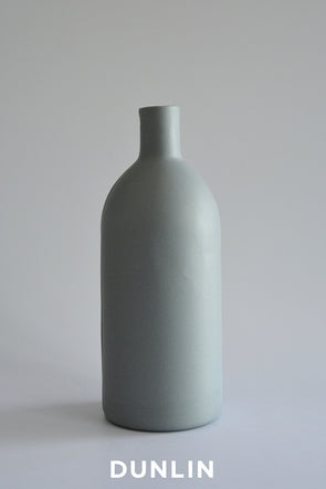 Lesley Doe Ceramics - Bottle 1 Steel