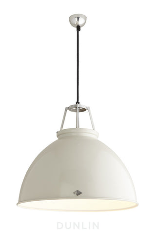 Titan 5 Pendant Light. White