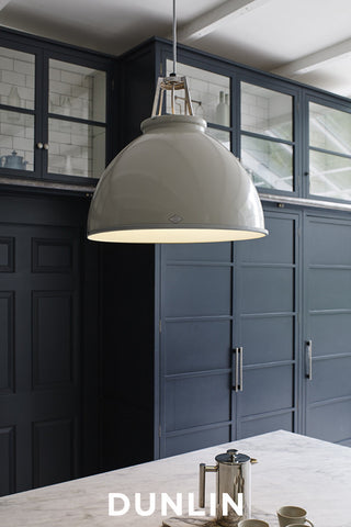 Titan 5 Pendant Light. Putty Grey