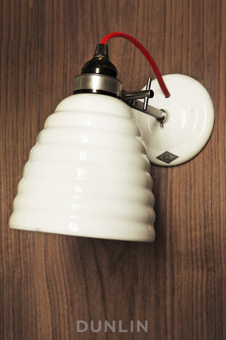Bibendum Bone China Wall Light