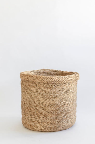 Dunlin J'Jute Assembly Tall Jute laundry Basket in Natural