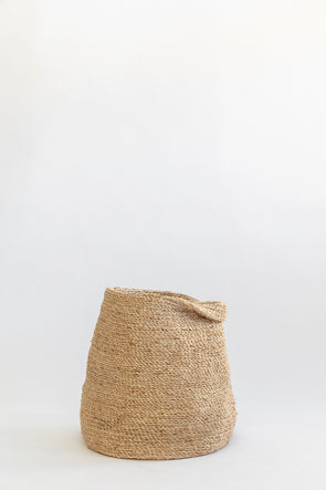Dunlin J'Jute Bull Jute Pitcher for dried flowers