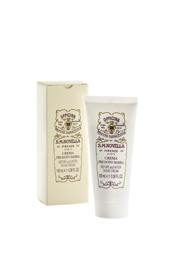Santa Maria Novella BEFORE & AFTER SHAVE CREAM, PRE DOPO BARBA-Dunlin Home