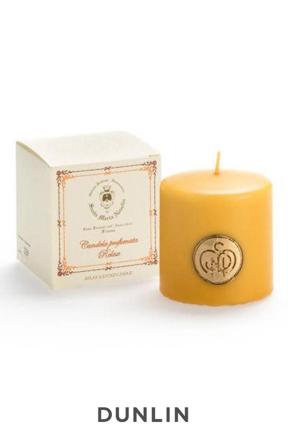 Santa Maria Novella - Relax Scented Candle- Medium-Dunlin Home