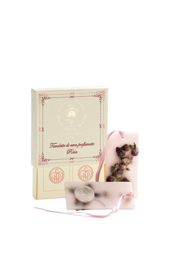 Santa Maria Novella ROSE SCENTED WAX TABLETS - box of 2 pcs-Dunlin Home