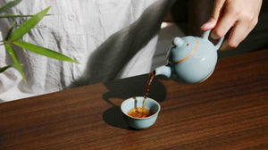 Enjoy Life With Tea and Delicate Tea Set