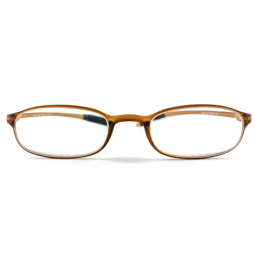 TR 90 (MEDIUM) Reading Glasses - Brown | Blue Lenses