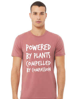 "Unisex ""Powered by Plants..."" (soft),Humane Apparel  - Humane Apparel"