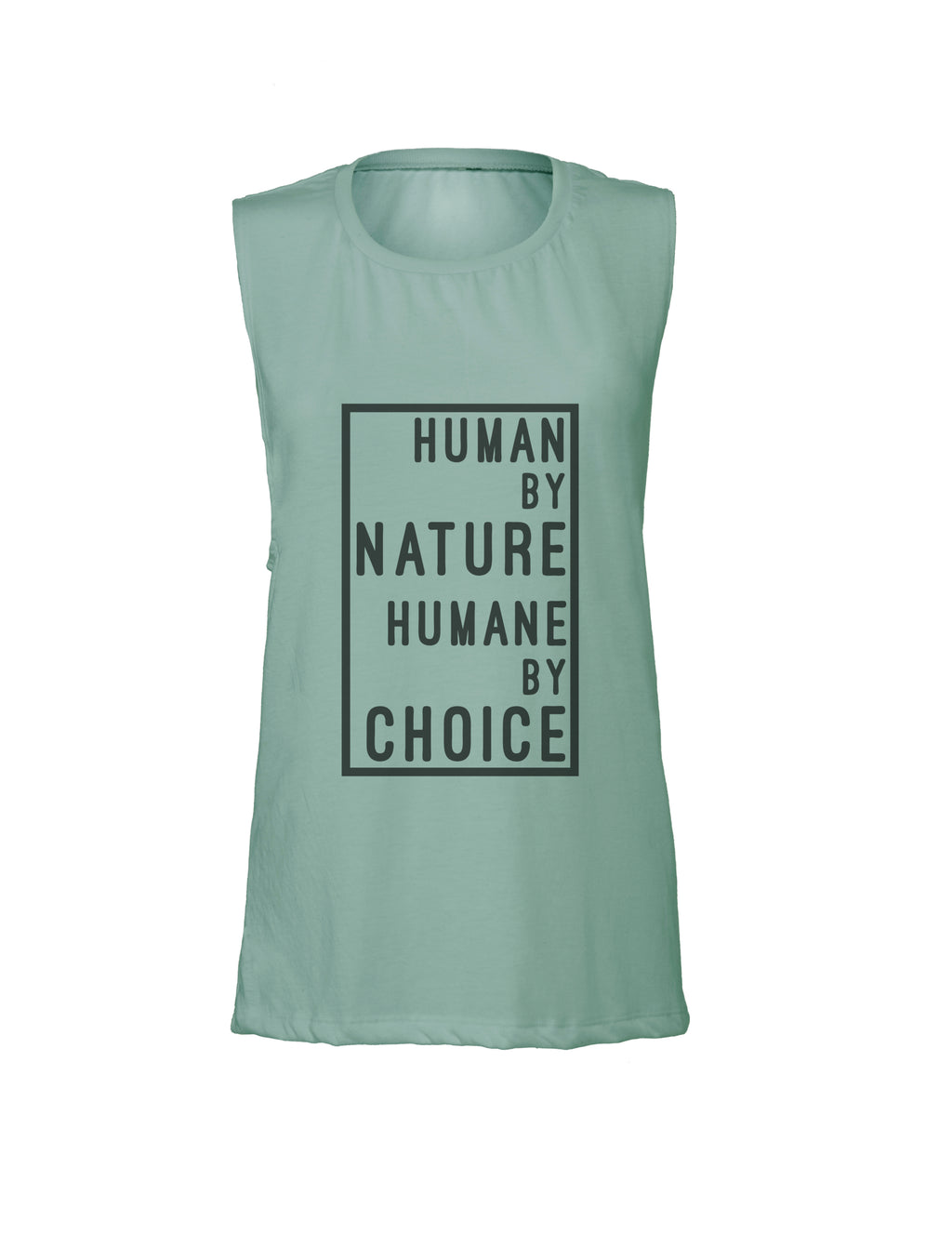 Womens Muscle Tank - Humane Apparel