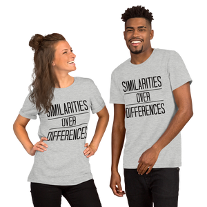 "Unisex ""Similarities Over Differences"" Tee - Humane Apparel"