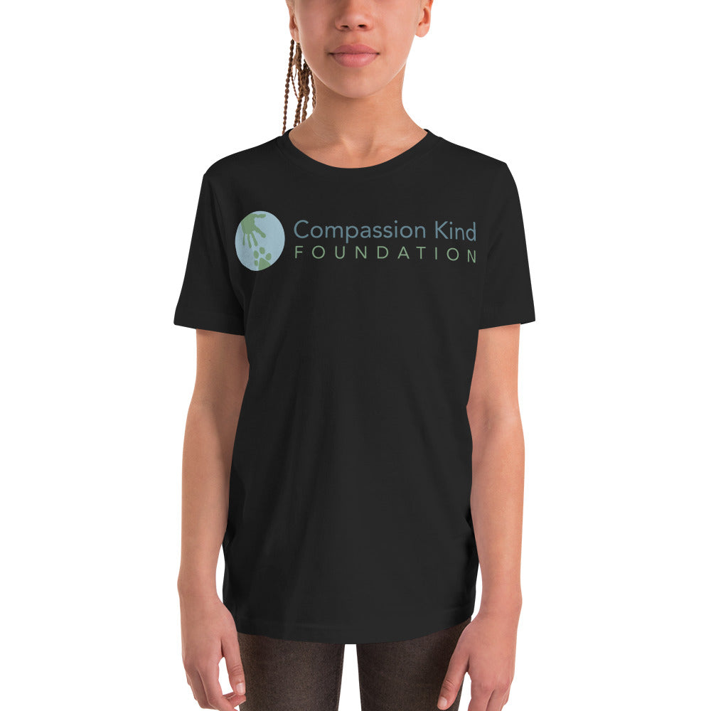 """Compassion Kind"" Youth Short Sleeve T-Shirt,Humane Apparel  - Humane Apparel"