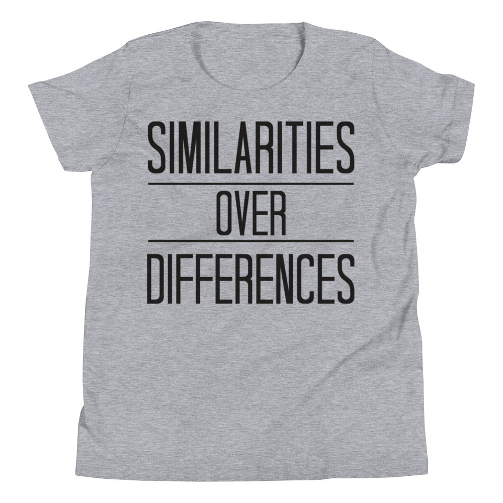 "Youth ""Similarities over Differences"" Tee,Humane Apparel  - Humane Apparel"