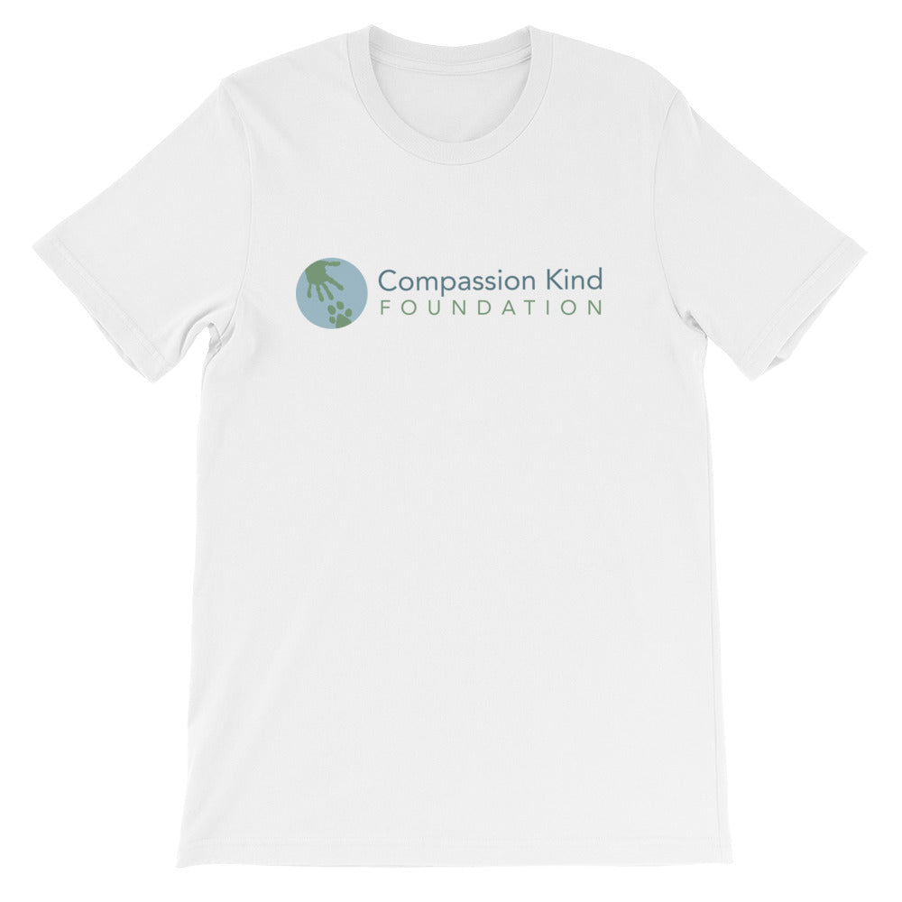 """Compassion Kind"" T-Shirt in light colors,Humane Apparel  - Humane Apparel"