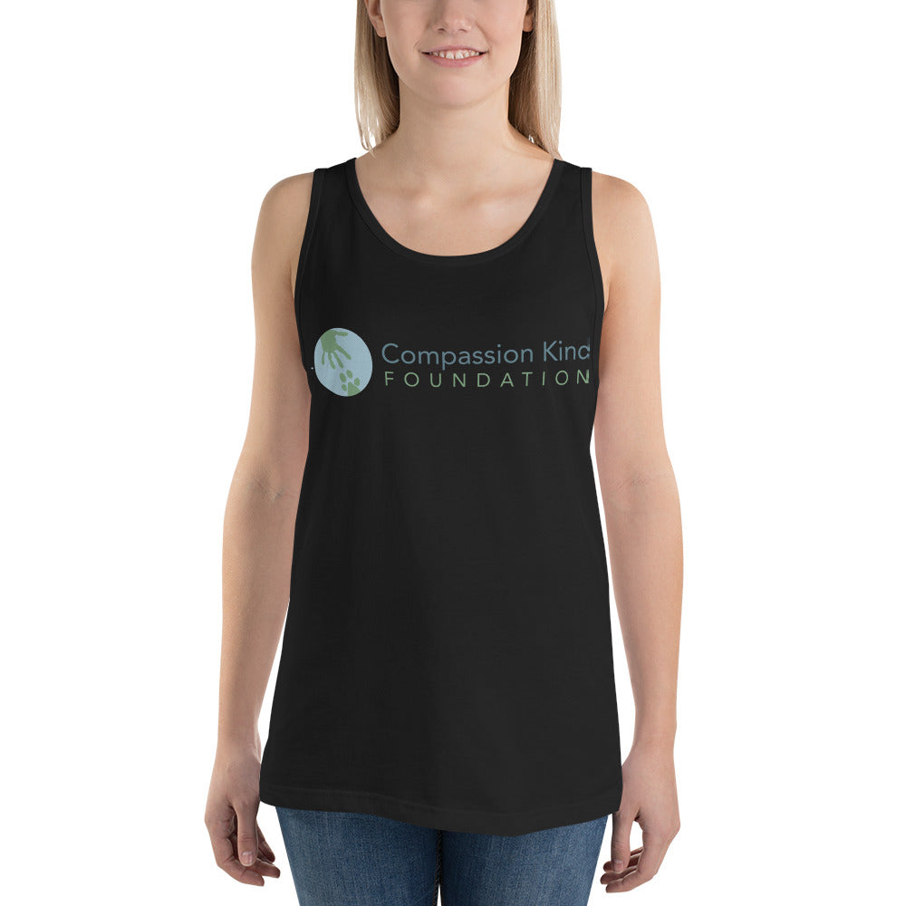 """Compassion Kind"" Unisex Tank Top,Humane Apparel  - Humane Apparel"