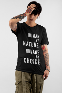 """Humane by Choice"" Eco Tee,Humane Apparel  - Humane Apparel"