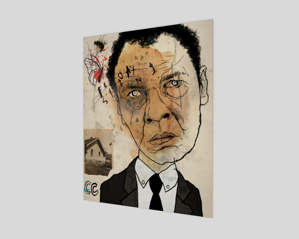 Muhammad Ali Fine Art Print with no border