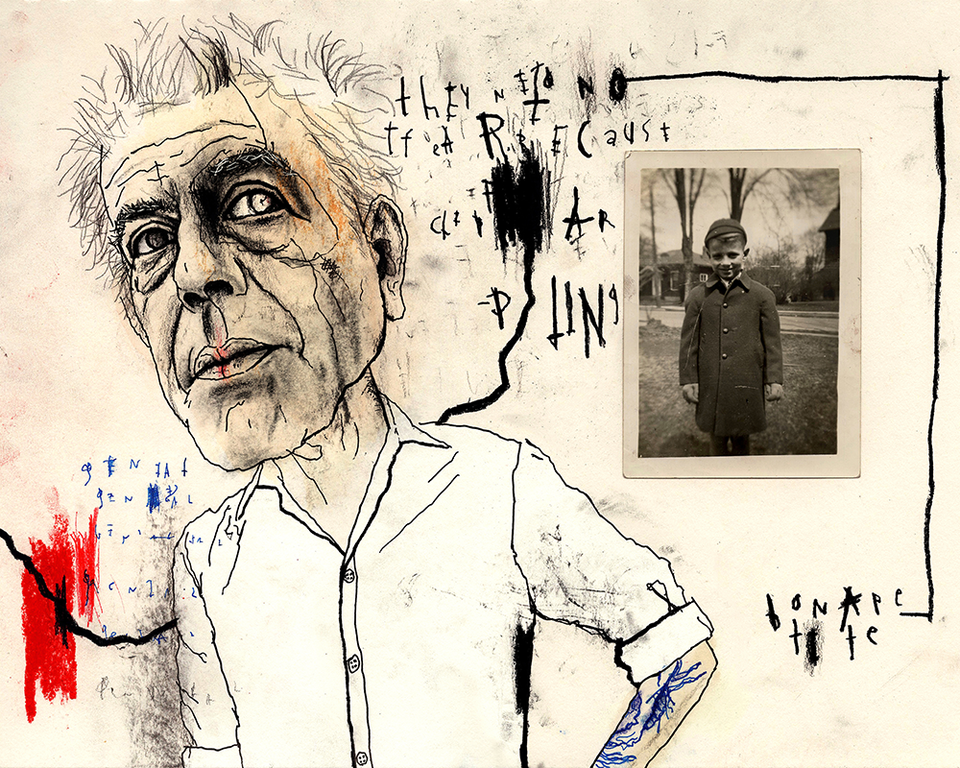 Bourdain Part 3 Fine Art Print