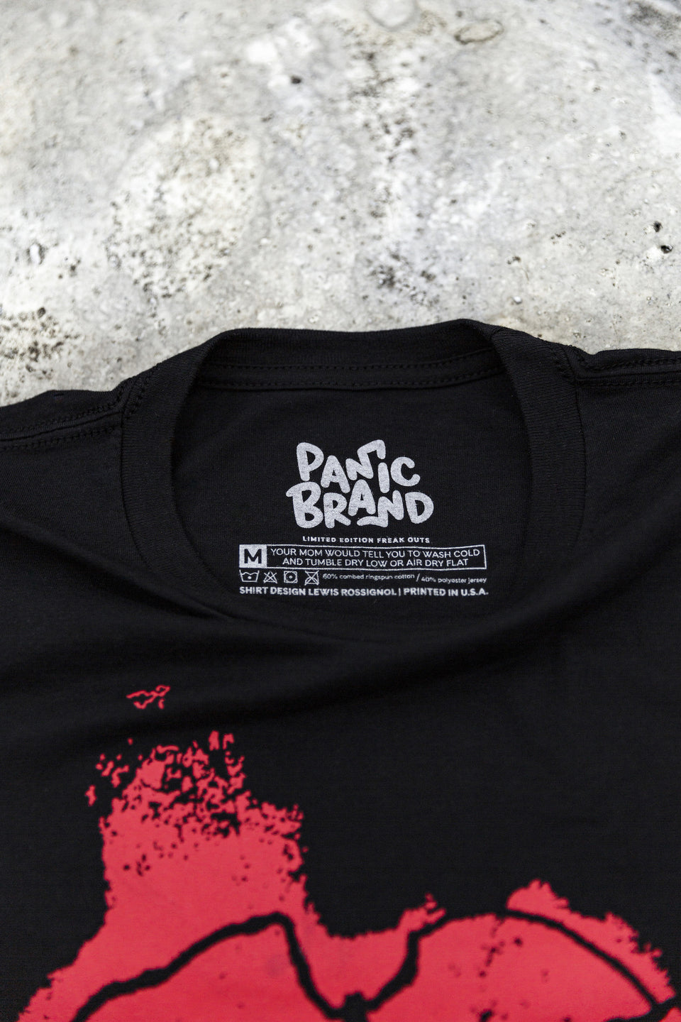 Panic Brand Lush T‑shirt Label