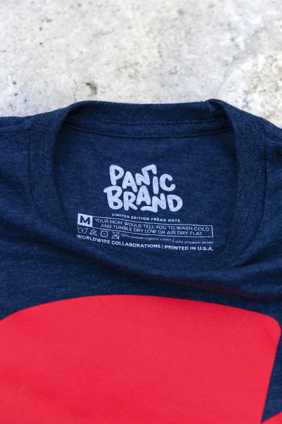 Panic Brand Chip T‑shirt Label