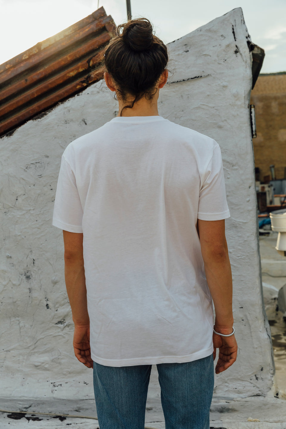 Panic Brand Hate the Game T‑shirt Back