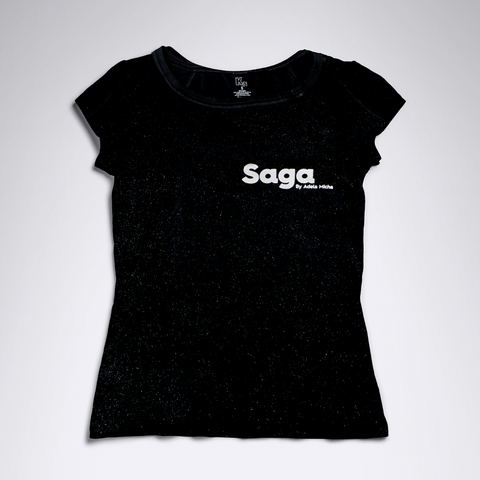 T-Shirt Con estampado Saga By Adela Micha