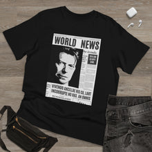 Load image into Gallery viewer, World News DAVID BOWIE Unisex Deluxe T-shirt