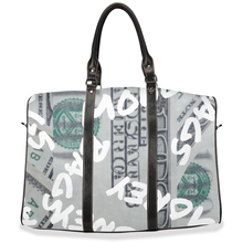 "Load image into Gallery viewer, "" Money Bags "" travel / hand / carry on bag (w/removable shoulder strap)"