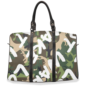 """ Make Love Not War "" PEA - travel / hand / carry on bag (w/removable shoulder strap)"
