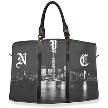 Load image into Gallery viewer, NYC travel / hand / carry on bag (w/removable shoulder strap)