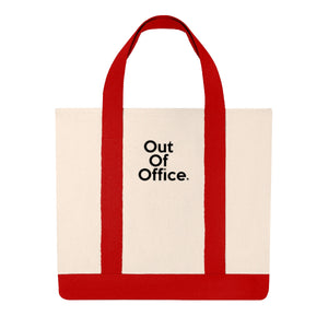 """ Out of Office "" Shopping Tote"