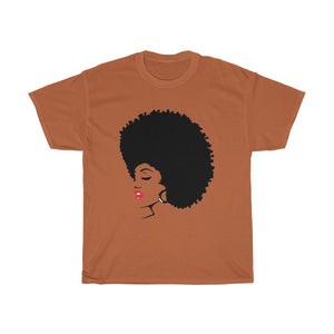 "* discount special* ""Melanin Melanie"" (red lippie) Unisex Heavy Cotton Tee"