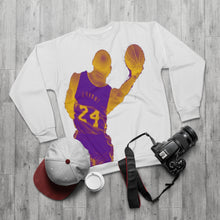 Load image into Gallery viewer, Kobe Bryant Lakers Colors (white) Unisex Sweatshirt