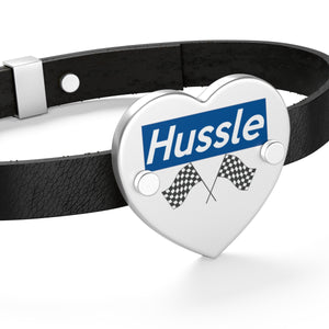Hussle (To Be Continued) 🌠 Leather/silver Bracelet