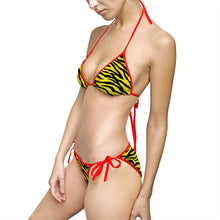 "Load image into Gallery viewer, ""Scratch"" women's bikini swimsuit"