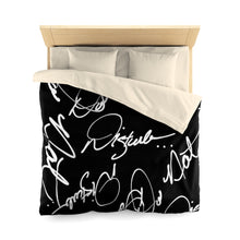 "Load image into Gallery viewer, "" Do Not Disturb "" Microfiber Duvet Cover"