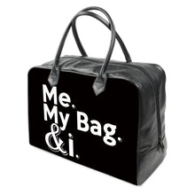 Load image into Gallery viewer, Me. My Bag. & i LEATHER Carry on Travel / Gym / Handbag
