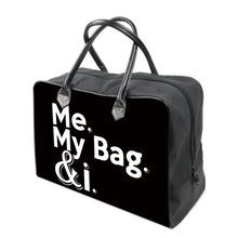 Load image into Gallery viewer, Me. My Bag. & i CANVAS Carry on Travel / Gym / Handbag
