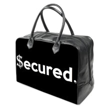 "Load image into Gallery viewer, ""Secured"" LEATHER Carry on Travel / Gym / Handbag"