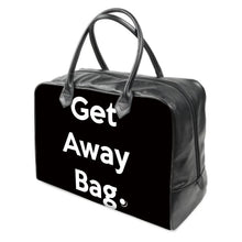 "Load image into Gallery viewer, ""Get Away Bag""  LEATHER Carry on Travel / Gym / Handbag"
